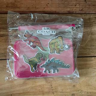コーチ(COACH)のCOACH 恐竜 ボールペン・シール・缶・メモ帳 雑誌MORE付録(ノベルティグッズ)
