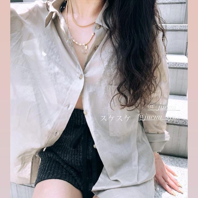 ALEXIA STAM(アリシアスタン)のjuemi シャツ レディースのトップス(シャツ/ブラウス(長袖/七分))の商品写真