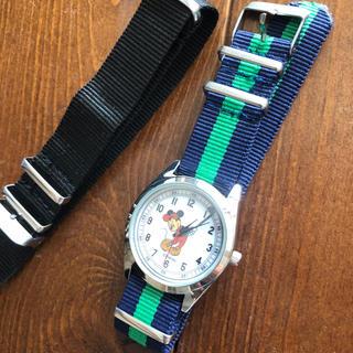otona MUSE 替えベルト付きのミッキーマウス腕時計(ファッション)