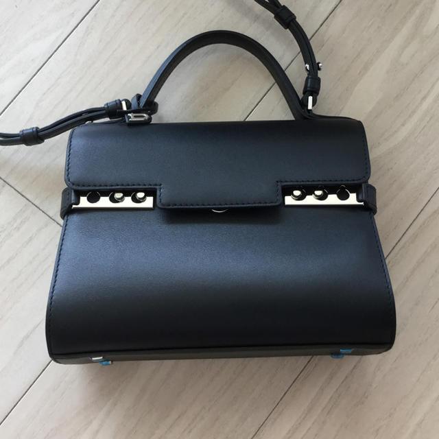 Hermes(エルメス)のDelvaux Tempete タンペートミニ ブラック未使用 レディースのバッグ(ハンドバッグ)の商品写真