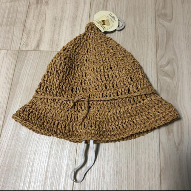 【値下げ】テータテート とんがり帽子 キッズ/ベビー/マタニティのこども用ファッション小物(帽子)の商品写真