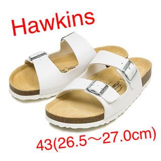 ホーキンス(HAWKINS)の【新品】Hawkins HS40041 ホワイト 43(26.5〜27.0)(サンダル)