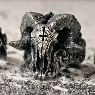悪魔 デビル リング 大きめ 指輪(リング(指輪))