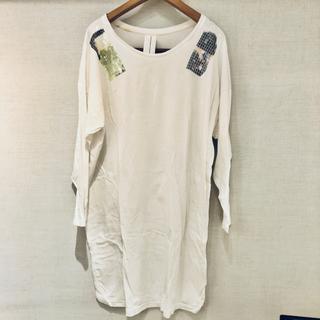 ニトカ(nitca)のnitca ニトカ スパンコールロングTシャツ(シャツ/ブラウス(長袖/七分))