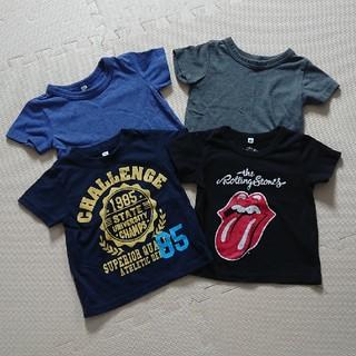 ニシマツヤ(西松屋)の半袖Tシャツ 4枚セット(Tシャツ/カットソー)