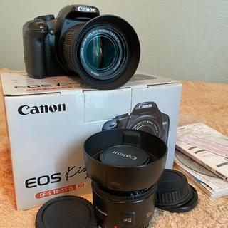 Canon - 【ダブルレンズ、おまけあり】Canon EOS KISS X2