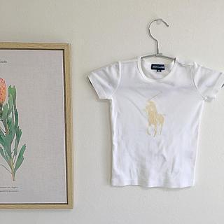 Ralph Lauren - 美品RALPH LAUREN  ラルフローレン キッズ 真っ白なTシャツ100
