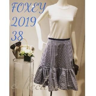FOXEY - 未使用♡フォクシー♡ギンガムチェックスカート