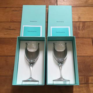 ティファニー(Tiffany & Co.)の*新品未使用*【ティファニー】ワイングラス セット(グラス/カップ)