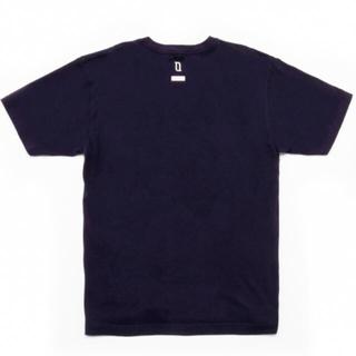 SEQUEL PRINT-TSHIRT NAVY  XLaize(Tシャツ/カットソー(半袖/袖なし))