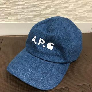 A.P.C - 新品☆APC× Carhartt WIP デニムキャップ 帽子コラボ