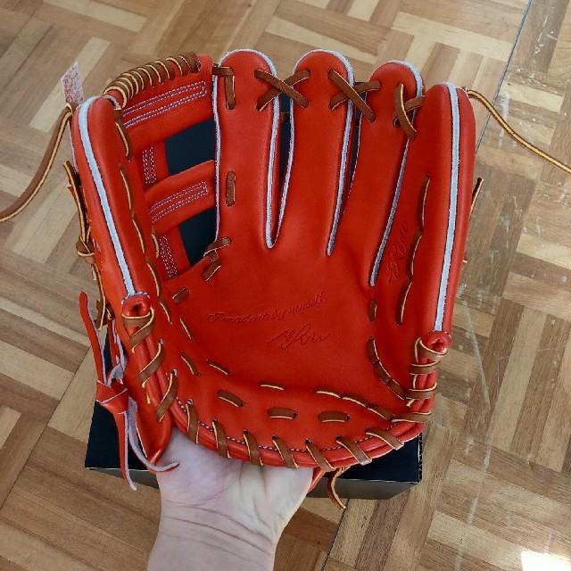 RYUSPORTS(リュウスポーツ)の【値下げ不可・新品未使用】RYU STS 硬式グローブ 野球  スポーツ/アウトドアの野球(グローブ)の商品写真