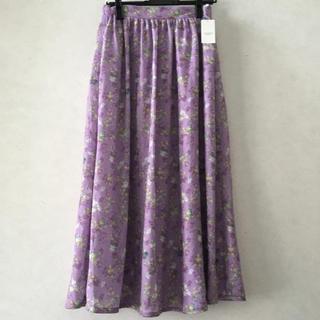 テチチ(Techichi)のテチチ 新品 スカート 花柄スカート ロペピクニック クチュールブローチ 好にも(ロングスカート)
