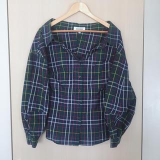 ENFOLD - ENFOLD(エンフォルド) チェックシャツ