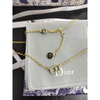 ディオール(Dior)のDior CLAIR D LUNE  ネックレス  ゴールド メタル(ネックレス)