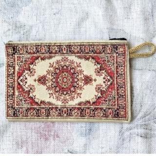 Francfranc - トルコ織物ポーチ