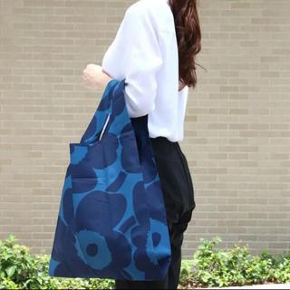 marimekko - ✦新品✦ 希少‼︎ マリメッコ スマートバッグ エコバッグ ウニッコ ブルー