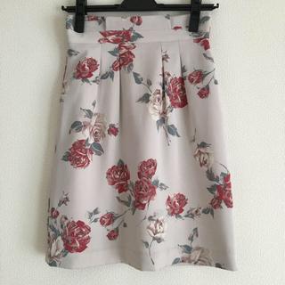 プロポーションボディドレッシング(PROPORTION BODY DRESSING)のプロポーション アンティークローズプリントスカート(ひざ丈スカート)