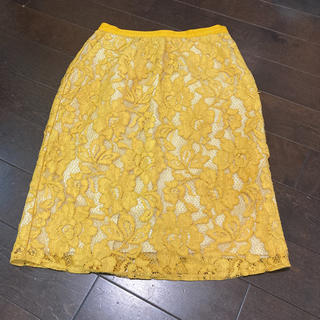 マリリンムーン(MARILYN MOON)のマリリンムーン  レース スカート(ひざ丈スカート)