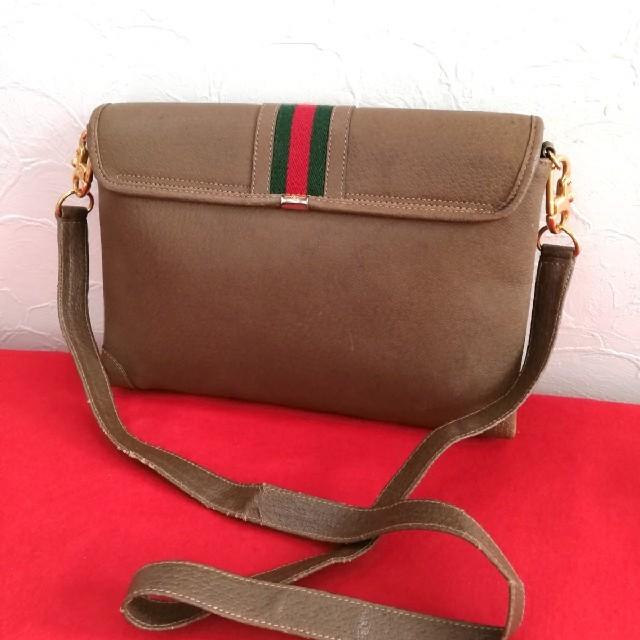 Gucci(グッチ)の良品 Gucci オールドグッチ シェリーライン 2way ショルダーバッグ レディースのバッグ(ショルダーバッグ)の商品写真