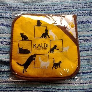 カルディ(KALDI)の【KALDI】カルディ 鍋敷き:ネコバッグ(収納/キッチン雑貨)