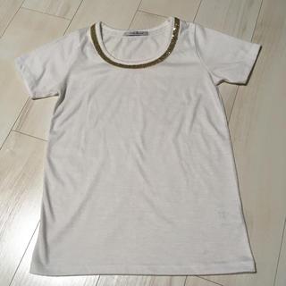 アーバンリサーチ(URBAN RESEARCH)のURBAN RESEARCH スパンコール付き半袖Tシャツ(Tシャツ(半袖/袖なし))