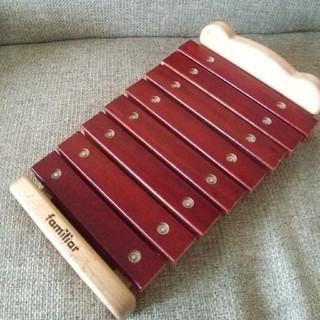 ファミリア(familiar)のfamiliar 木琴(楽器のおもちゃ)