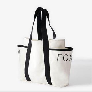 FOXEY - FOXEY&ADEAM  コラボダブルネームトートバッグ 限定ノベルティ