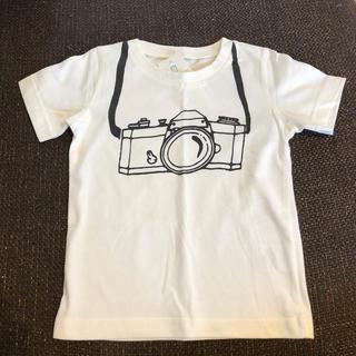 ニシマツヤ(西松屋)の新品☆カメラプリントのTシャツ90cm(Tシャツ/カットソー)