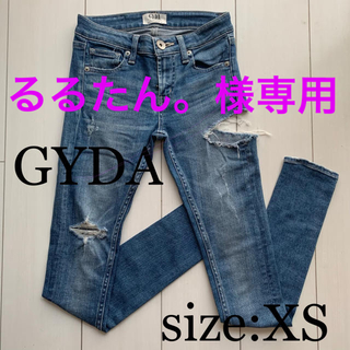 GYDA - ジェイダ サイドリッパー スキニーデニム