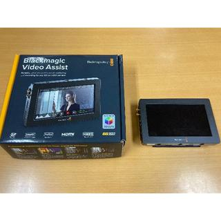Blackmagic Video Assist ・ケージ 付き