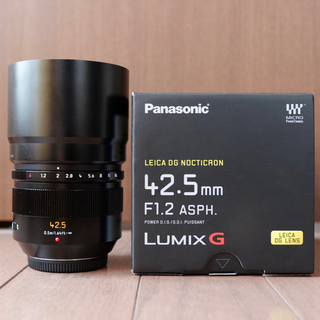 Panasonic - LEICA DG NOCTICRON 42.5mm F1.2 ASPH.
