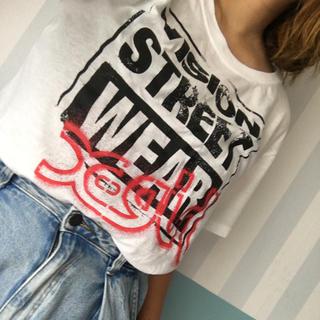 X-girl - vision×XGIRLTシャツ