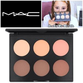 マック(MAC)のMAC◆スカルプト&シェイプ コントアーパレット #ライト/ミディアム(フェイスパウダー)