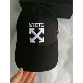 OFF-WHITE - 早い者勝ち オフホワイト キャップ/帽子