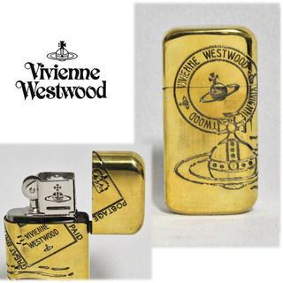 ヴィヴィアンウエストウッド(Vivienne Westwood)の《ヴィヴィアンウエストウッド》新品 ORB スタンプ オイルライター ゴールド(タバコグッズ)