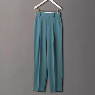 BEAUTY&YOUTH UNITED ARROWS - roku 6 GEORGETTE TUCK PANTS