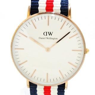 ダニエルウェリントン(Daniel Wellington)のダニエルウェリントン 腕時計美品  - B13(腕時計)