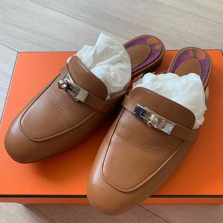 Hermes - 美品 エルメス 靴 ミュール オズ 36