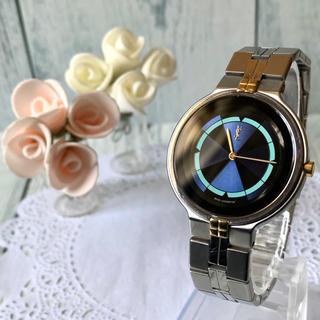 Saint Laurent - 【電池交換済み】Yves Saint Laurent  腕時計 ネイビー メンズ