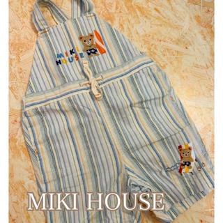mikihouse - ミキハウス オーバーオール