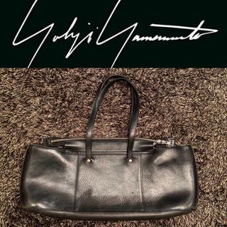 ヨウジヤマモト(Yohji Yamamoto)のYohji Yamamoto 変形トートバッグ レザー ブラック ユニセックス(トートバッグ)