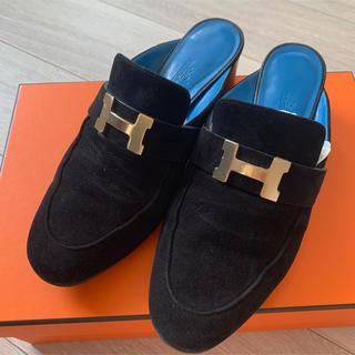Hermes - 美品 エルメス 靴 ミュール パラディ 36