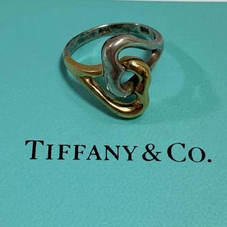 Tiffany & Co. - 人気!!【ティファニー オープンハートリング 750×925   10号】