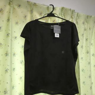 UNIQLO - ユニクロ ドライEXプリントクルーネックTシャツ
