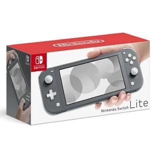 ニンテンドースイッチ(Nintendo Switch)のNintendoSwitch lite グレー(携帯用ゲーム機本体)