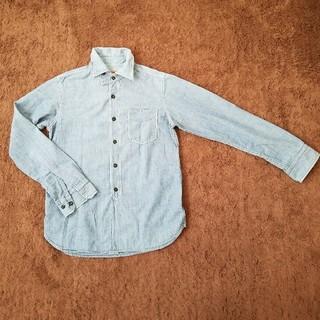 オムニゴッド(OMNIGOD)のOMNIGOD シャンブレーシャツ size2 DMG Brocante(シャツ/ブラウス(長袖/七分))