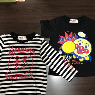 バンダイ(BANDAI)のアンパンマンTシャツ&ロンT(90)(Tシャツ/カットソー)