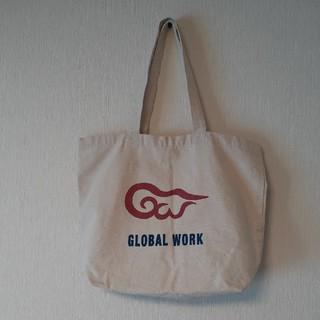 グローバルワーク(GLOBAL WORK)のGLOBAL WORK トートバッグ エコバッグ(トートバッグ)