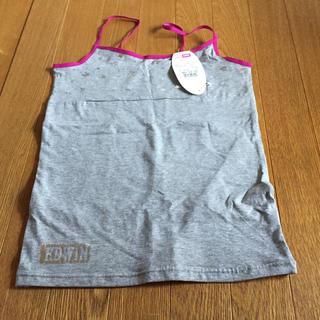 エドウィン(EDWIN)のエドウィン キャミソール グレー 150 EDWIN 新品(Tシャツ/カットソー)